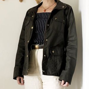 Jackets & Blazers - Jcrew waxed canvas field jacket